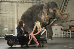 Imagen de Britney Spears con elefantes