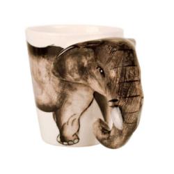 Tazas de elefantes