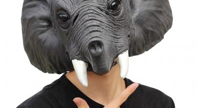 Máscaras de elefantes