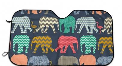 Parasoles de elefantes