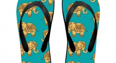 Sandalias de elefantes