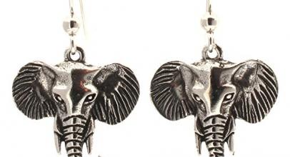 Pendientes de elefantes