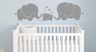 Pegatinas de elefantes